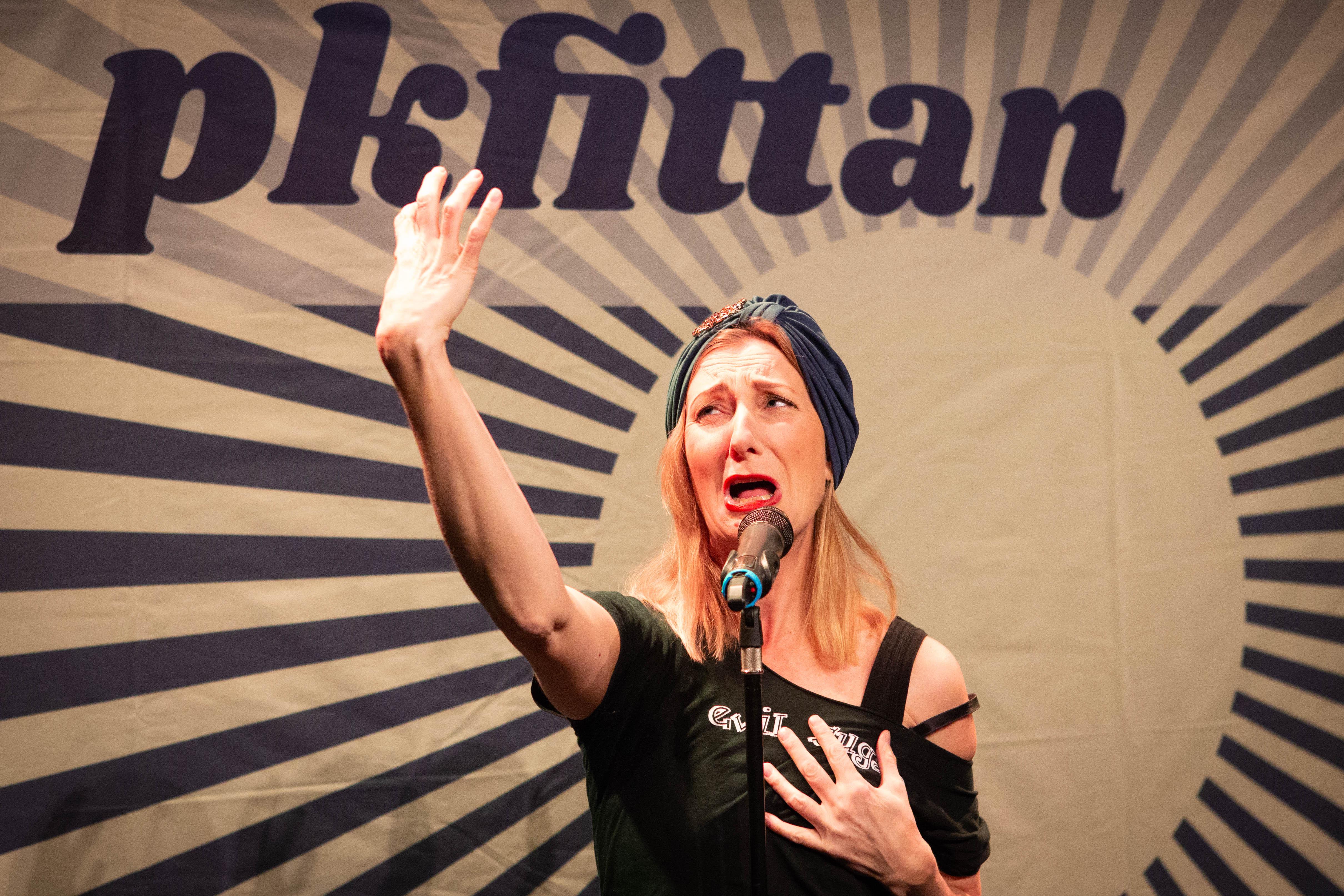 Elna Du Rietz i PK-fittan